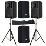 "2 x RCF ART 310-A MK4 10"" 1600W Active PA Speaker 3Yr Warranty + Covers + Stands     Be the first to"